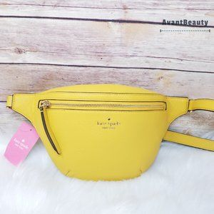 Kate Spade Gold Yarrow Belt Bag Fanny Pack Jackson